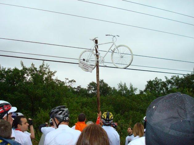 Bicicleta no Parque de Coqueiros.