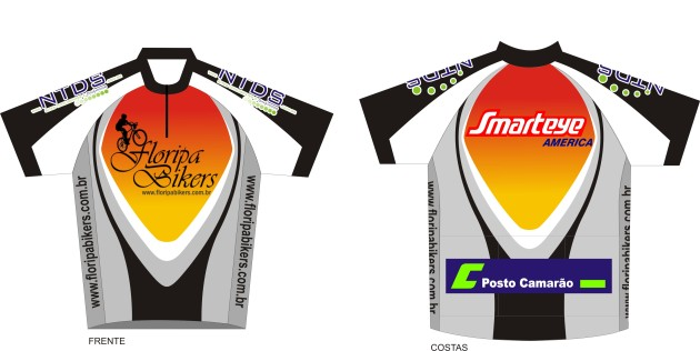 Camiseta do Floripa Bikers