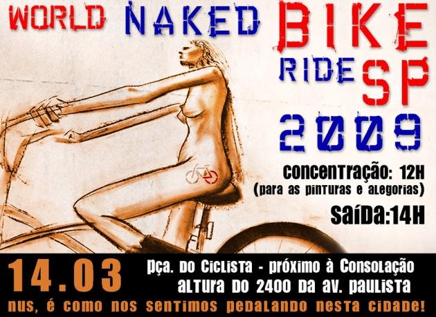 Cartaz de divulgação do WNBR São Paulo v1