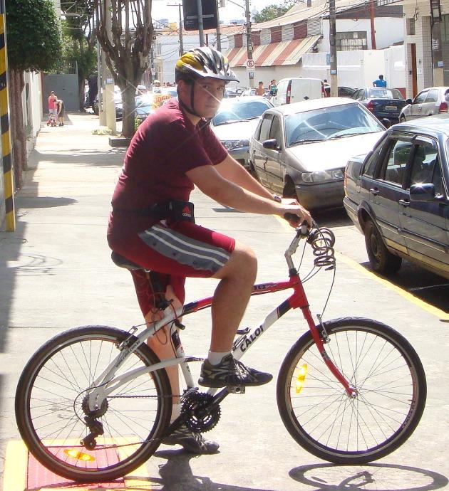 Ciclista juventino.