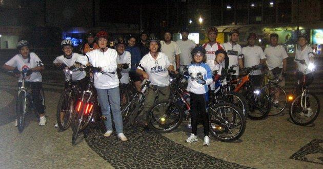 Foto: Sirlei (da Associação de Ciclismo de Balneário Camboriú e Camboriú)