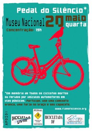 Brasília - Pedal do Silêncio 2009-05-20