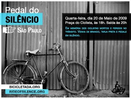 São Paulo - Pedal do Silêncio 2009-05-20 v2