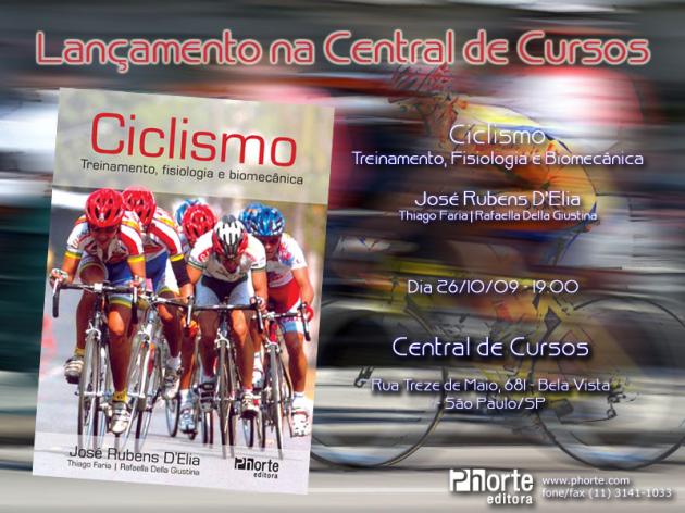 Lançamento de livro Ciclismo 2009-10-26