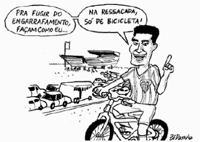 charge - Zé Dassilva - DC 2009-11-02 - William de bicicleta