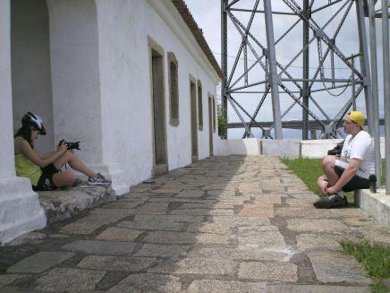 """Making off do documentário """"Ghost Bikes"""": entrevista com Bicicleta na Rua. Foto: Mario Sergio Fregolão."""