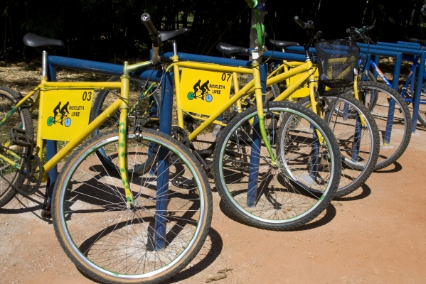 Bicicleta Livre. Foto: Isabela Lyrio / Agência UnB.