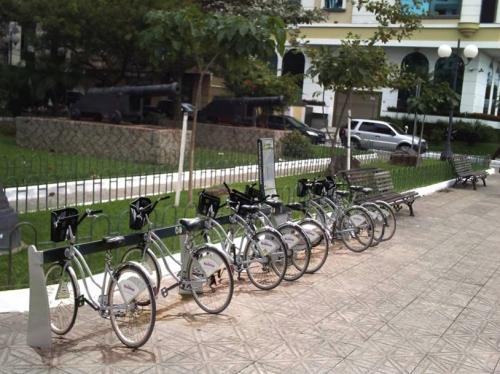 Perspectiva. Cidade ganhará 111 estações e 1328 suportes para as bicicletas.
