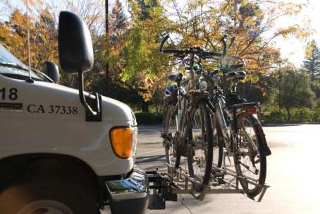 Transporte de bicicleta em ônibus em Santa Rosa, Califórnia. Foto: Eduardo Green Short (24/10/2008).