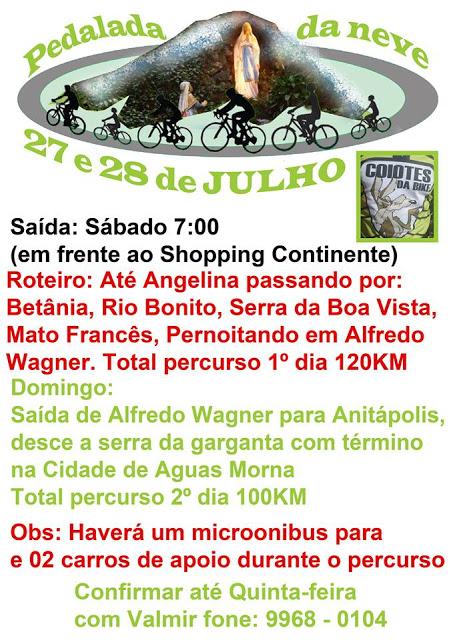Florianopolis 2013-07-26 Coiotes da Bike