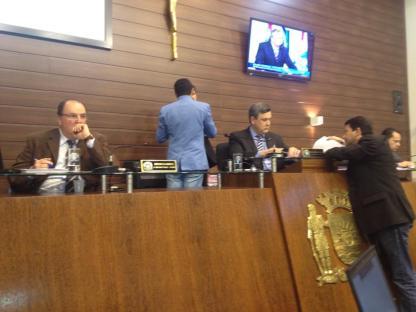 Votação de requerimento sobre ciclovia na Av. Madre Benvenuta na Câmara de Vereadores. Foto: Pedro de Assis Silvestre (Pedrão).