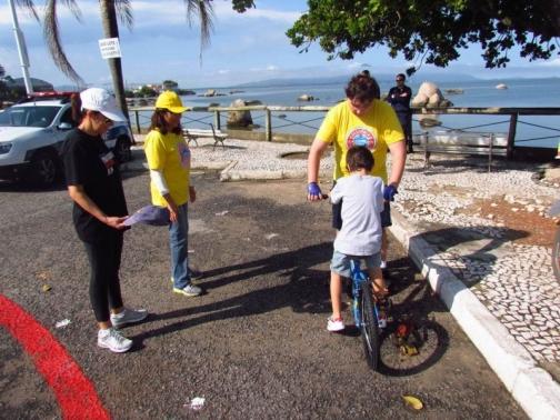 Escolinha Bike funcionará das 08h30 às 12h. Foto: Joel Pacheco.