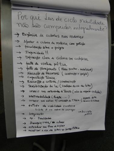 Alguns pontos debatidos não constarão da legislação e dependem de  esforço e vontade para seguirem adiante. Foto: Fabiano Faga Pacheco.
