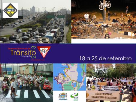 Semana Nacional do Transito 2013