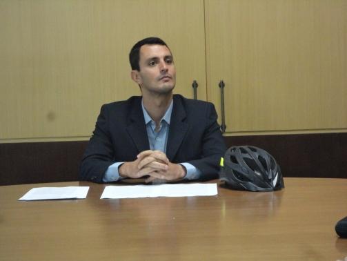 Consolidação da Pró-Bici foi o primeito decreto assinado por João Amin. Foto: Fabiano Faga Pacheco.