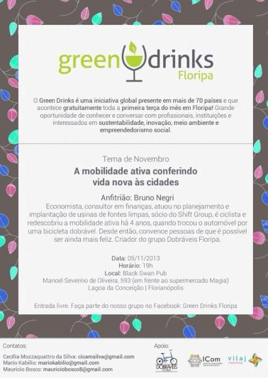 Florianopolis 2013-11-05 Green Drinks