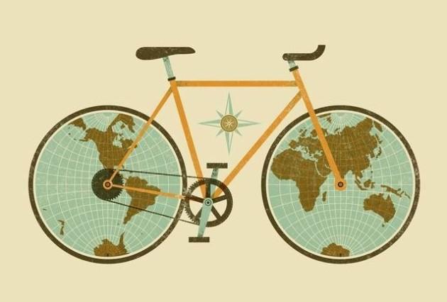 o mundo em duas rodas