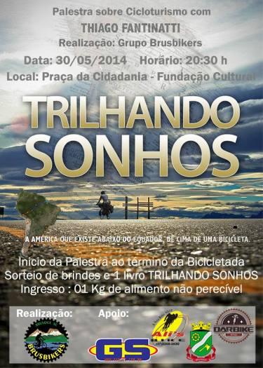 Brusque 2014-05-30 Trilhando Sonhos