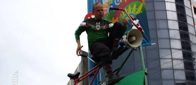 Elias de Souza foi às Copas desde 1986. Foto: Rubem Berta / O Globo.