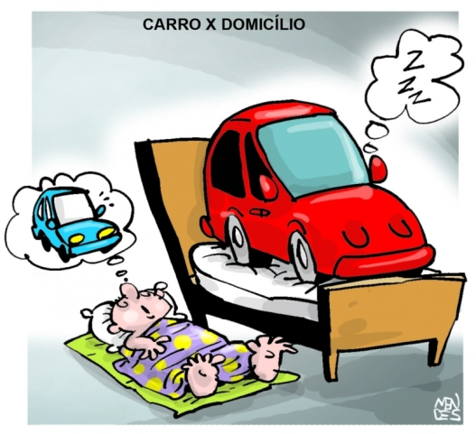 charge - Mendes ND 2013-10-24 Carro vs lar