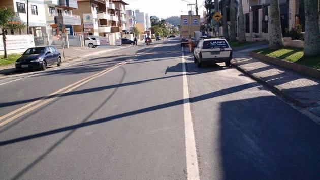 Vista da Rua Dante de Pata em 27 de julho de 2015. Foto: Gustavo Paulo.